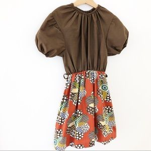 Vintage handmade 1970's Dress vgvc size 5/6 years